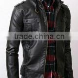 Leather Jackets - lamb leather jackets - mens women PU jackets - genuine lamb leather jackets