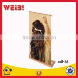 Chinese Characteristics, Classical, Environmental, Bamboo Roll Up Stand