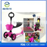 Alibaba Express Best Buy Factory direct supply kids 3 wheel kick scooter /scooter kids new model / widen pedal cheap kids