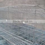 Alibaba Trade Assurance Low carbon steel galvanized welded rabbit cage/ aluminum rabbit cage