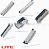 WIRE TO BOARD CONNECTORS FPC 0.5mm Pitch Connector (H=2.0mm BACK FLIP TYPE),OEM/ODM AVAILABLE