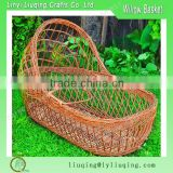 Wicker Baby sleeping basket baby carry basket wholesale