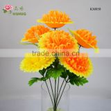 best selling cheap big artificial flower dia 20cm head plastic funeral flower