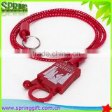 "New design Casino 10-33"" Bungee Cord Lanyard Players Club Card Holders Casino Bungee Cord                                                                         Quality Choice"