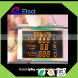 negative industrial used 7segment chromatic flexible intelligent SMD welding torch lcd display