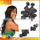 Wholesale 5A Indian human hair body wave halo hair extensions true quality long lasting durable body wave