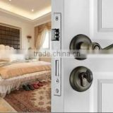 Stainless Steel Interior Wood Door Lockset                                                                         Quality Choice