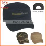 Washed Cottom Camouflage Millitary Baseball Cap With Cotton Sweatband
