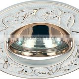 Zinc alloy die casting white europe style IP20 low price LED MR16 GU10G5.3 modern downlight spotlight ceiling light