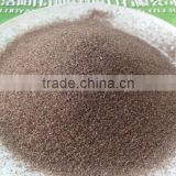 good quality brown fused alumina grain and powder for polishing of metal parts of motorcycle