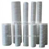 cotton wound filter cartridges for air/gas(factory)