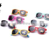 New product Manufacturers selling silicone polarizing sunglasses cute kids glasses