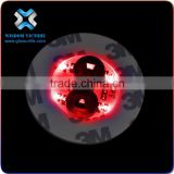 China Novelty Special Custom UV Black Light Placemats And Coasters,led sticker for bottle