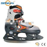 Wholesales high quality adjustable stitching ice skate
