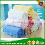China made cheap price bamboo fiber dishes towel