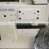 reconditioned used Cs 530 Embroidery Machine Chain Stitch By Hand Golden Wheel Sewing Machine