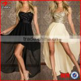 New 2014 Nude Bandage Party Dress Black/Gold Sequined Strapless Vestidos Sexy Club Dress Bohemian Dresses Elegant Party Dresses                                                                         Quality Choice