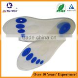 Foot Rlief Soft Silicone Sports Insoles and Sillicone Orthotic Insole Pad for Foot Arch Support