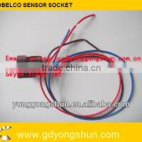 KOBELCO EXCAVATOR SENSOR SOCKET,EXCAVATOR ELECTRICAL PARTS