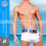 Latest low rise thong design lycra spandex shorts nylon mens swim briefs sexy men swimwear