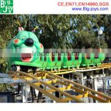 Attracting!!! Amusement park worm roller coaster for sale, cheap roller coasters sale, roller coaster ride