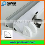 16*16mm triangle LED aluminum profile for kitchen cabinet