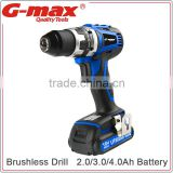 G-max 18V Brushless Power Craft Cordless Drill Battery GT31021