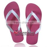 lady pink pe sole v strap slippers