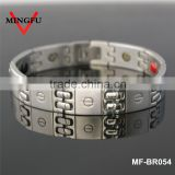 stainless steel ion bracelet 2015 new negative ion bracelet