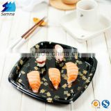 SM1-3130A Square Plastic Plate,plastic tray,disposable tray with Transparent Lid for Food