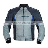 Waterproof, removable inner, protectors motorcycle blue jacket