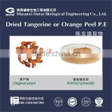 Herbal extract dried tangerine or orange peel Extract