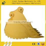Construction equipments excavator shovel rock bucket manufacturer in shandong