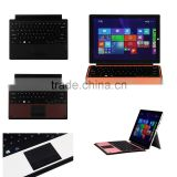 Bluetooth keyboard case with touchpad for microsoft surface pro 3