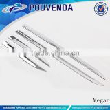 Stainless Steel Side Door Streamer Car Body Trim For Jeep Grand Cherokee 11-14 accessories from Pouvenda