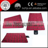 New design soft plaid picnic mat camping mat