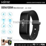 OEM/ODM custom sports wristbands bluetooth activity tracker with continuous heart rate monitor
