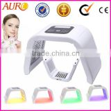 AU-2B Hot sale!!!Red yellow blue light PDT beauty machine bio light therapy skin whitening machines