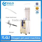 Face Peeling Machine Microdermabrasion Oxygen Jet Facial Machines & Water Diamond Dermabrasion Diamond Peel Machine Oxygen Jet Peel Machine For Cleaning Skin Improve Oily Skin Skin Whitening
