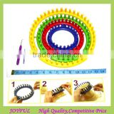 New Design Mix-color Plastic Circular Loom Knitting
