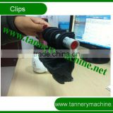 middle size plastic stretch bending machine clip