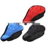 3D Breathable Bicycle Saddle Front Seat Mat Silicone Cycling Seat Cushion Bike Soft Seat Cover Bicycle Parts