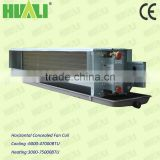 air conditioning Ducted type chiller water ceiling fan coil unit horizontal concealed fan coil unit