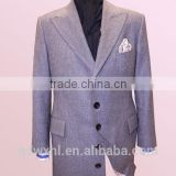 High quality bespoke full canvas suit