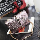 zm50364b 2017 winter new style fashion women bag chain tassels crossbody bag