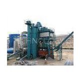 Intermittent Compulsory Method Drum Mix Asphalt Plant , 260KW Power Asphalt Machinery For Road Const