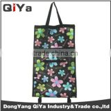 Wholesale Promotional Wheeled Foldable Kitchen Serving Shopping Trolley Bags Grocery Vegetable Supermarket Shoping Cart