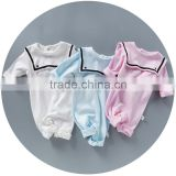 Infants & Toddlers Fashion Plain Baby Romper Clothes Baby Jumpsuit Outfits