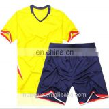 Wholesale cheap soccer uniforms from China plain football jerseys for youth