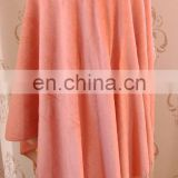 Hot sale fashion 100% cashmere napping silk winter long scarf and shawl